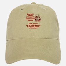 Karl Marx on Women Baseball Baseball Cap