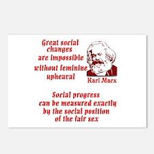 Karl Marx on Women Postcards (Package of 8)