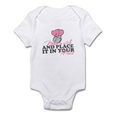Funny Make a wish Infant Bodysuit