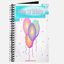 1st Birthday Journal