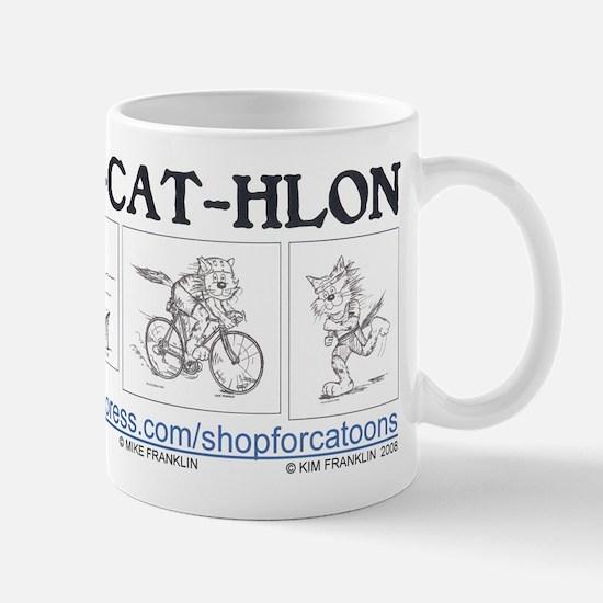 Catoons™ TRI-CAT-HLON™ Cat Mug