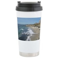 La Jolla Beaches, San Diego Travel Mug