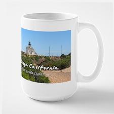 Old Point Loma Lighthouse, San Diego Large Mug