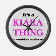 It's a Kiara thing, you would Large Wall Clock