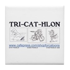 Catoons Tile Coaster
