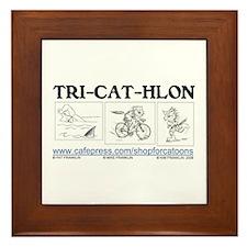 Catoons Framed Tile