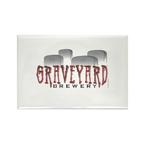 Graveyard Brewery Rectangle Magnet