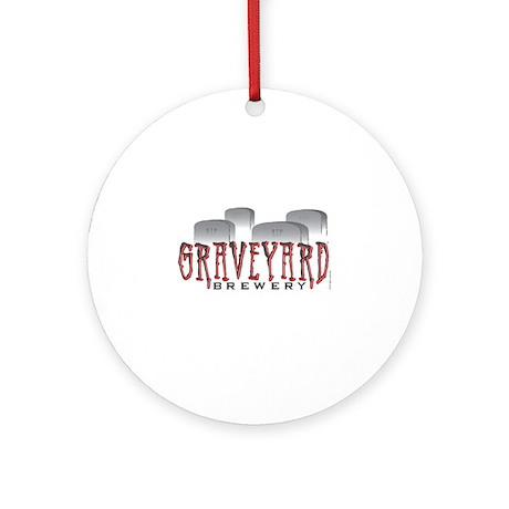 Graveyard Brewery Ornament (Round)