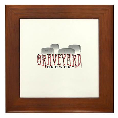 Graveyard Brewery Framed Tile