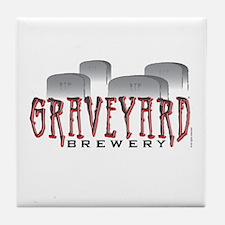 Graveyard Brewery Tile Coaster