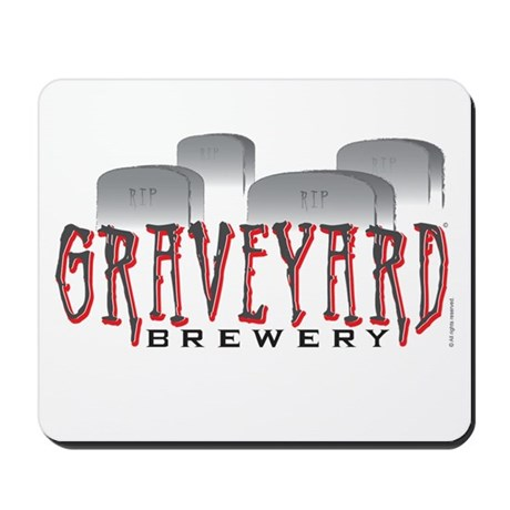 Graveyard Brewery Mousepad
