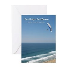Torrey Pines, San Diego Greeting Card