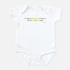 Psalm 16:9 Infant Bodysuit
