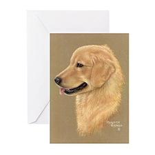 Golden Retriever Greeting Cards (Pk of 20)