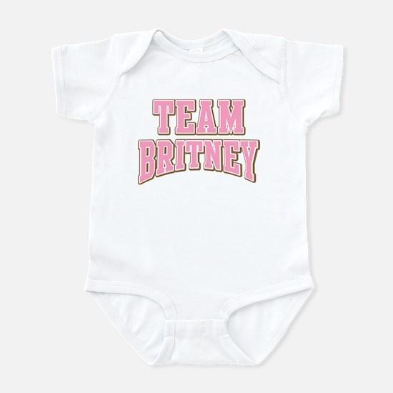 Team Britney Personalized Custom Infant Bodysuit