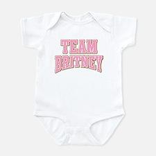 Team Britney Personalized Custom Onesie
