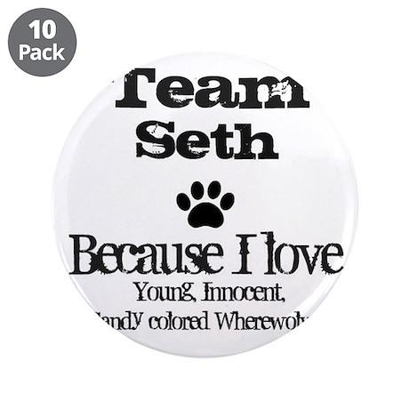 """Team Seth 3.5"""" Button (10 pack)"""
