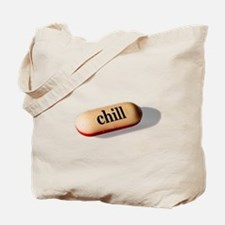 Chill Pill Tote Bag