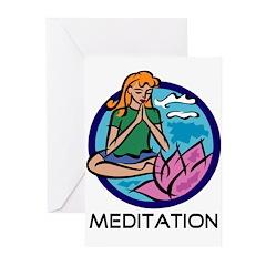 Meditation Greeting Cards (Pk of 10)