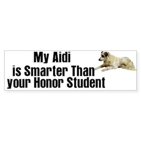 Aidi Bumper Sticker