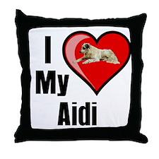 Aidi Throw Pillow