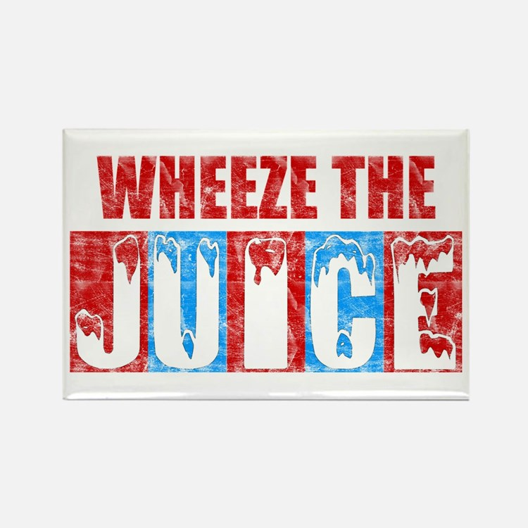 Wheeze the Juice Rectangle Magnet