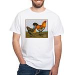 Barnyard Ameraucanas White T-Shirt