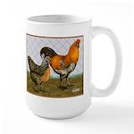 Barnyard Ameraucanas Large Mug