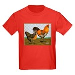 Barnyard Ameraucanas Kids Dark T-Shirt