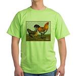 Barnyard Ameraucanas Green T-Shirt