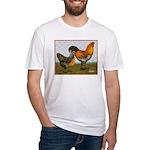 Barnyard Ameraucanas Fitted T-Shirt