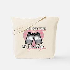 Funny Navy sailor Tote Bag
