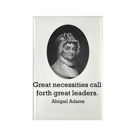 Abigail Adams Rectangle Magnet (100 pack)