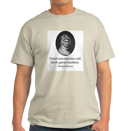 Abigail Adams Light T-Shirt