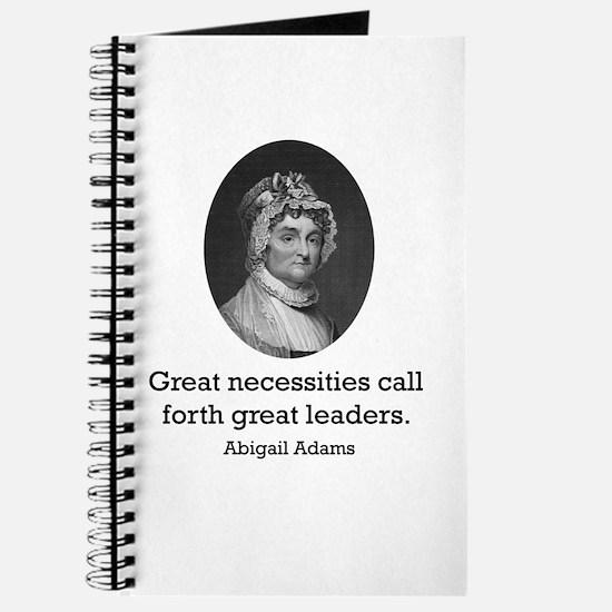 Abigail Adams Journal