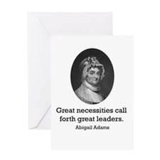Abigail Adams Greeting Card