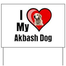 Akbash Dog Yard Sign