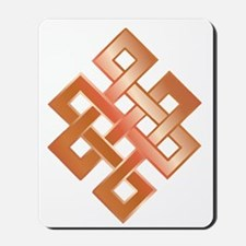 Copper Endless Knot Mousepad