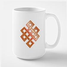 Copper Endless Knot Large Mug