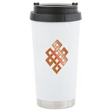 Copper Endless Knot Travel Mug