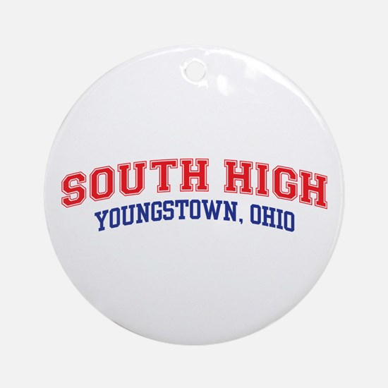 South High School Round Ornament