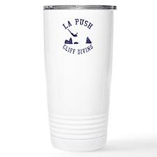 La Push Cliff Diving Travel Mug