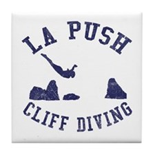 La Push Cliff Diving Tile Coaster