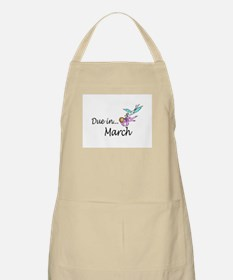 Due In March BBQ Apron
