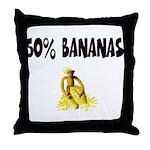 Banana genes theme Throw Pillow