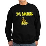 Banana genes theme Sweatshirt (dark)