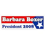 Barbara Boxer 2008 Bumper Sticker