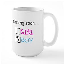 Boy, Coming Soon Mug