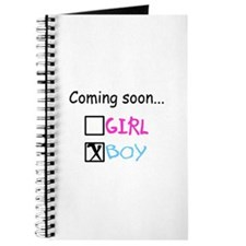Boy, Coming Soon Journal