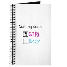 Girl, Coming Soon Journal